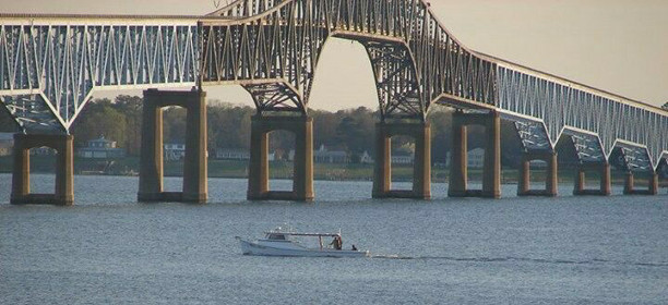 Rapp River bridge and boat-612