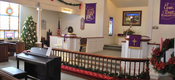 White Stone United Methodist Church Sanctuary